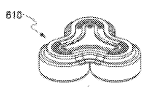 Image of a patent having a shamrock-shape