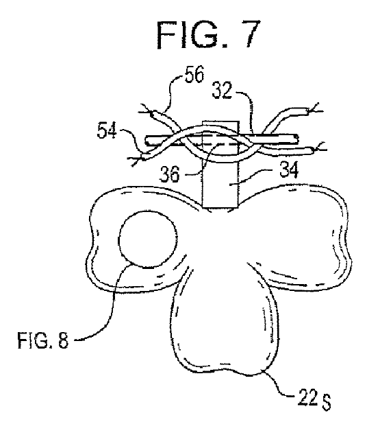 A patent protects this light-up shamrock necklace