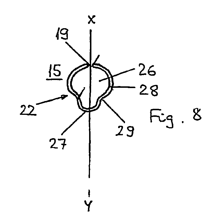 Image of a patent having a shamrock shape feature