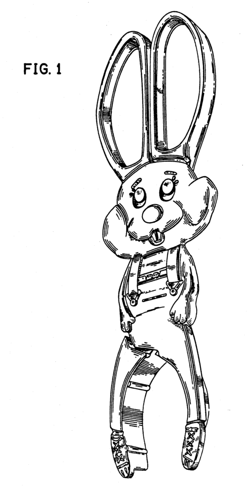 Serving utensil for Easter protected by a Patent Attorney